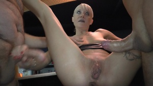 Klaras anal and creampie Barfuck