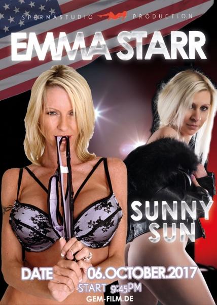 Emma Starr & Sunny Sun at 20.10.17 in Spermastudio