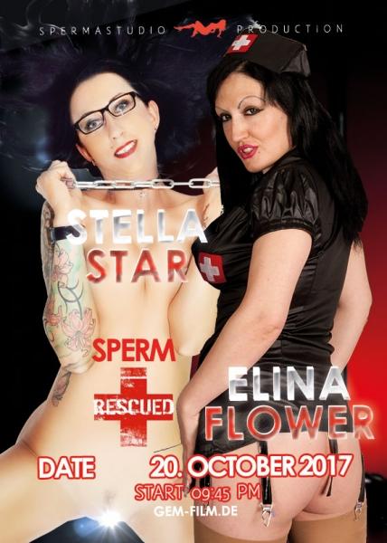 Elina Flower at 20.10.17 in Spermastudio