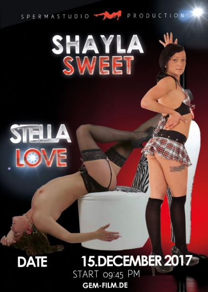 Production Shayla Sweet and Stella Love at 15.12.2017 Spermastudio