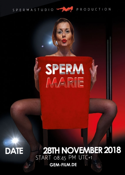 Production with Sperm Marie at 28th November 2018 Spermastudio