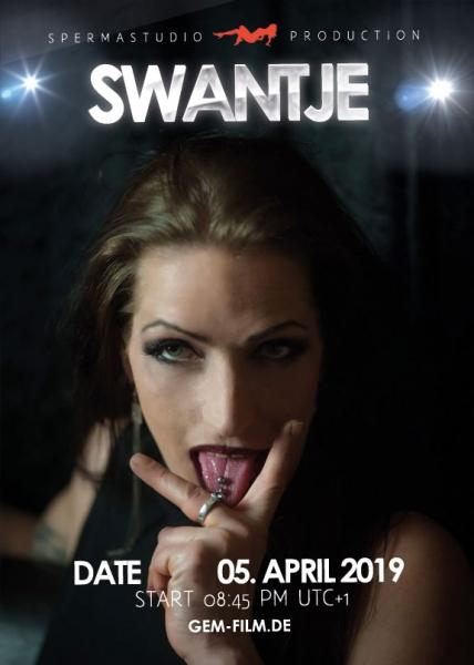 Live stream 05th April 2019 with Swantje Spermastudio